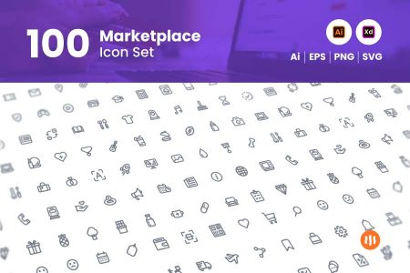 100-Marketplace-Icon-Set-Git-Aset