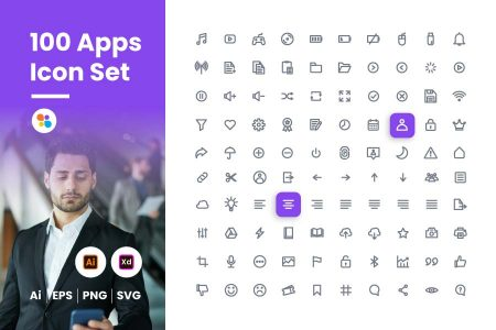 100-apps-icon-set-git-aset