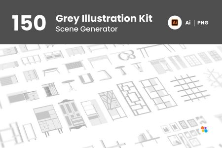 150-grey-illustration-kit-git-aset