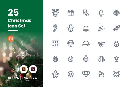 25-Christmas-icon-set-git-aset