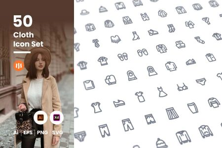 50-Cloth-Icon-Set-Git-Aset