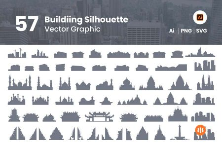 57-Building-Vector-Silhouette