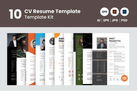gitaset_10-cv-resume-template