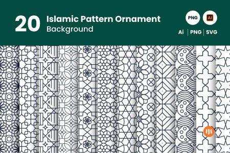 gitaset_20 pattern ornament