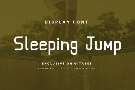 gitaset_sleeping-jump-font